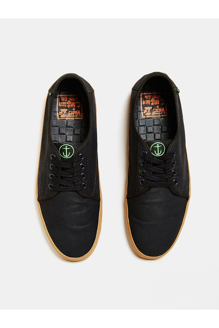 9a9678a49a8 Lyst - Vans X Captain Fin Costa Mesa Shoe in Black