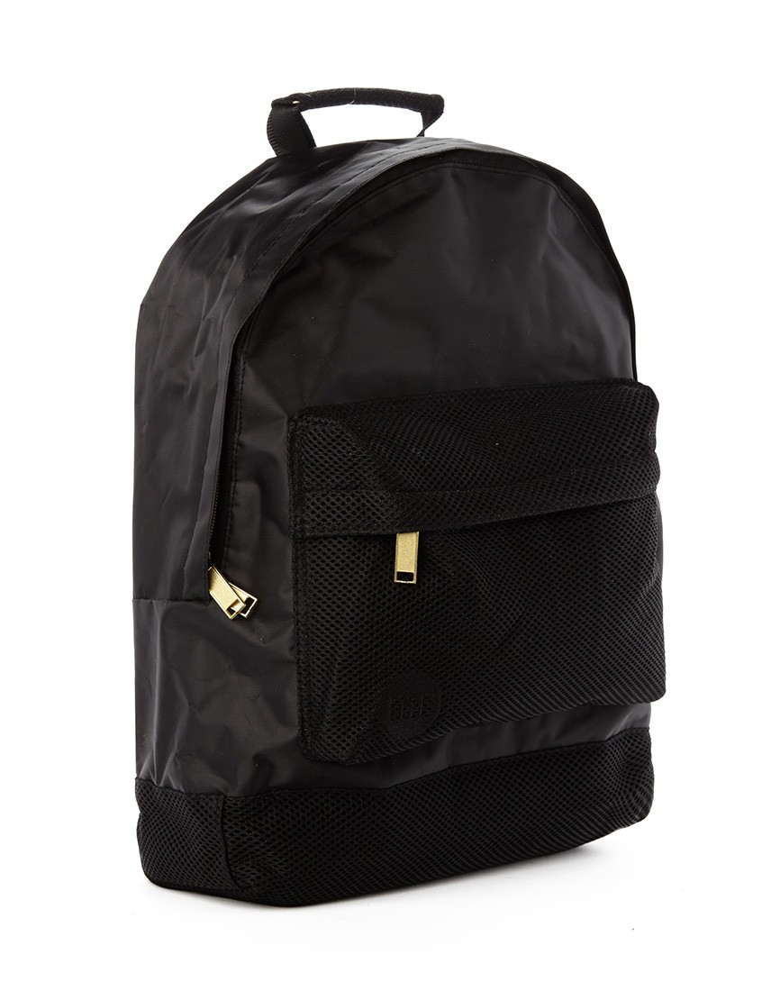 968471e68a08 Lyst - Mi-Pac Gold Satin Mesh Backpack - Black in Black for Men