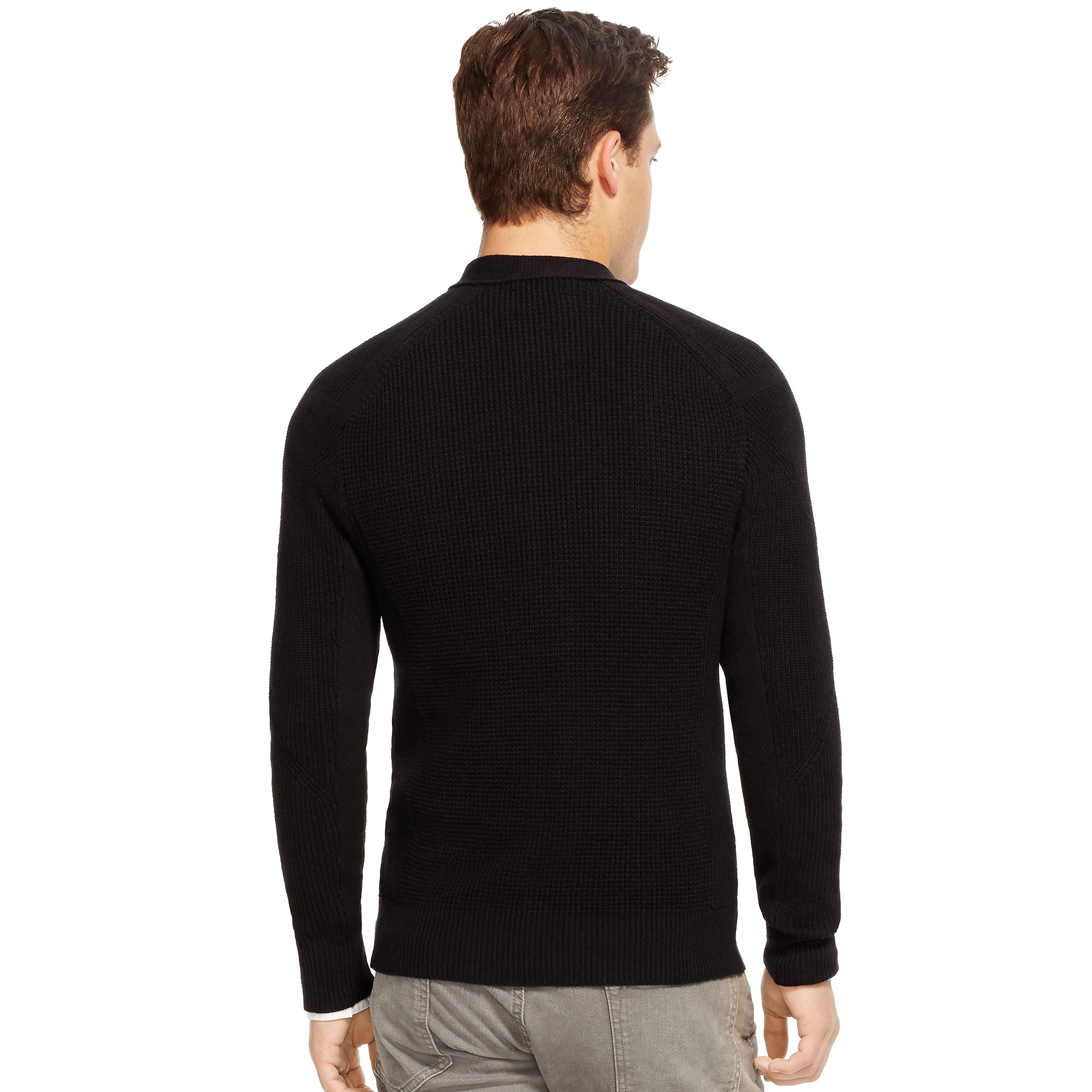 Polo ralph lauren Slim Cotton-cashmere Cardigan in Black for Men ...