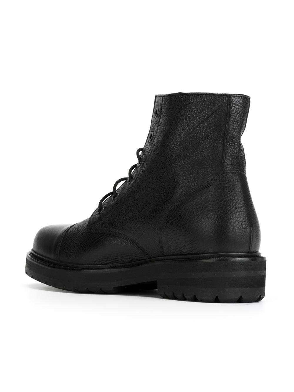 Marc Jacobs Lace Up Boots In Black For Men Lyst