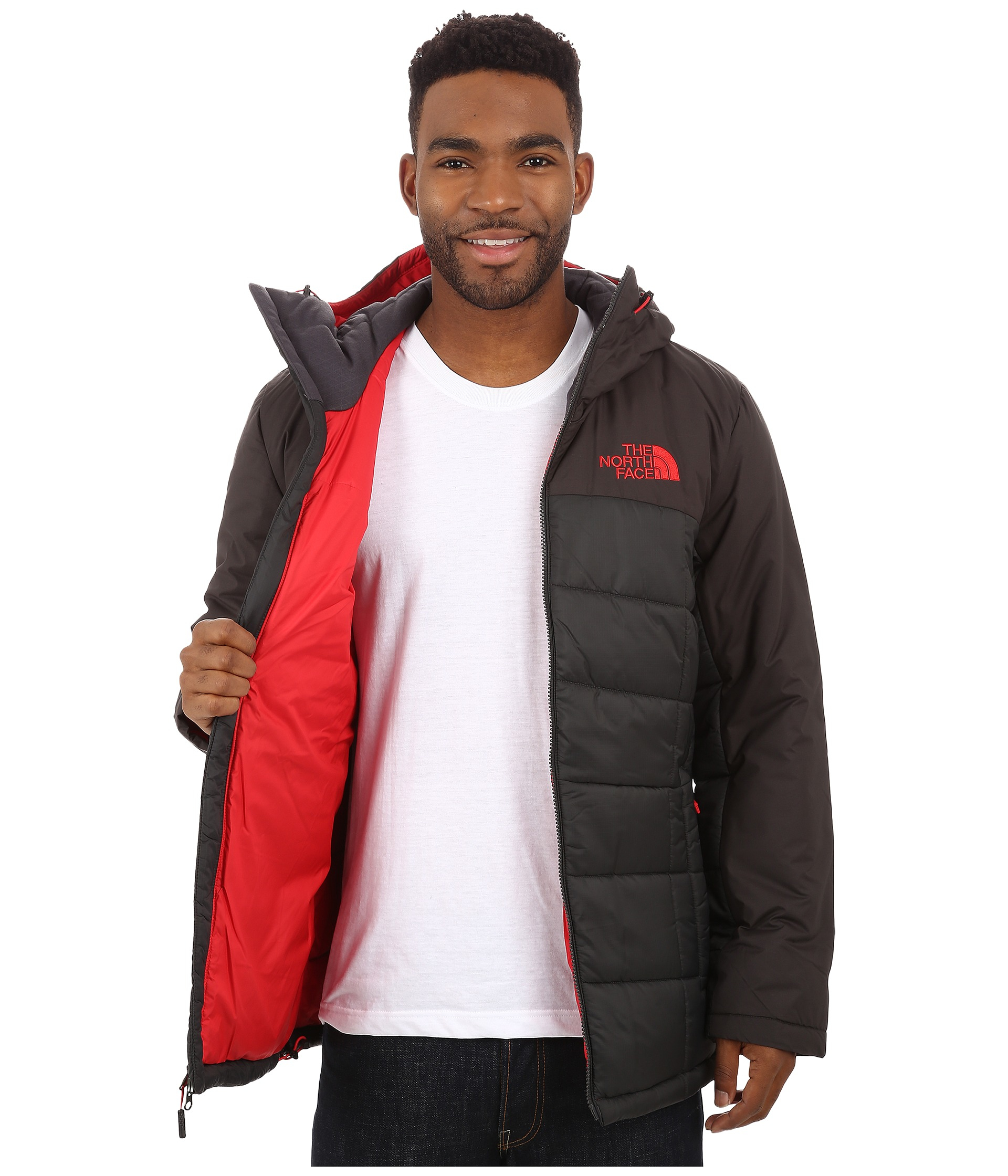 5296336657a8 The north face Roamer Parka in Black for Men Lyst ...