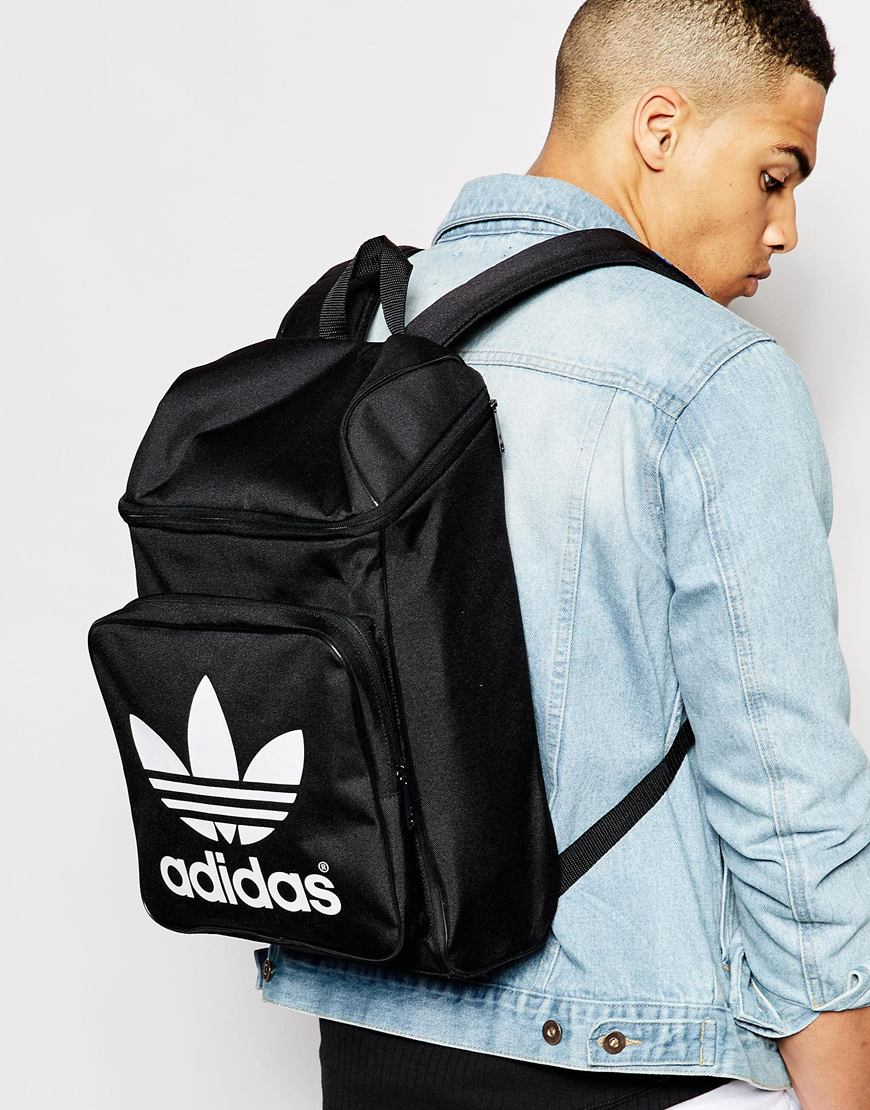 449bab36a77a adidas Originals Classic Backpack in Black for Men - Lyst