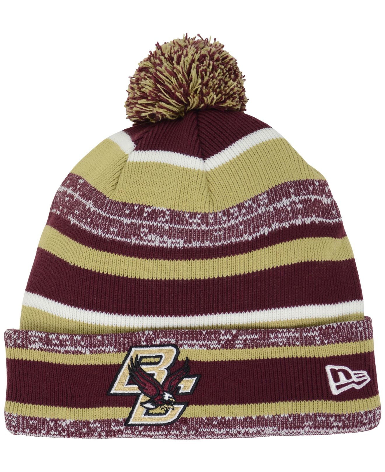 ... czech lyst ktz boston college eagles sport knit hat in purple for men  4aded 3ca4a 29b215bf0ce6