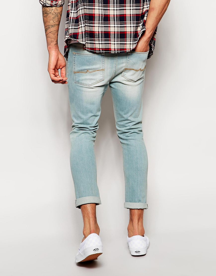 Slim ankle jeans mens