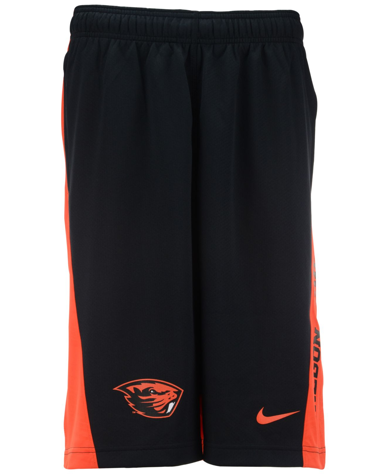 Lyst - Nike Men's Oregon State Beavers Fly Shorts in Black ...