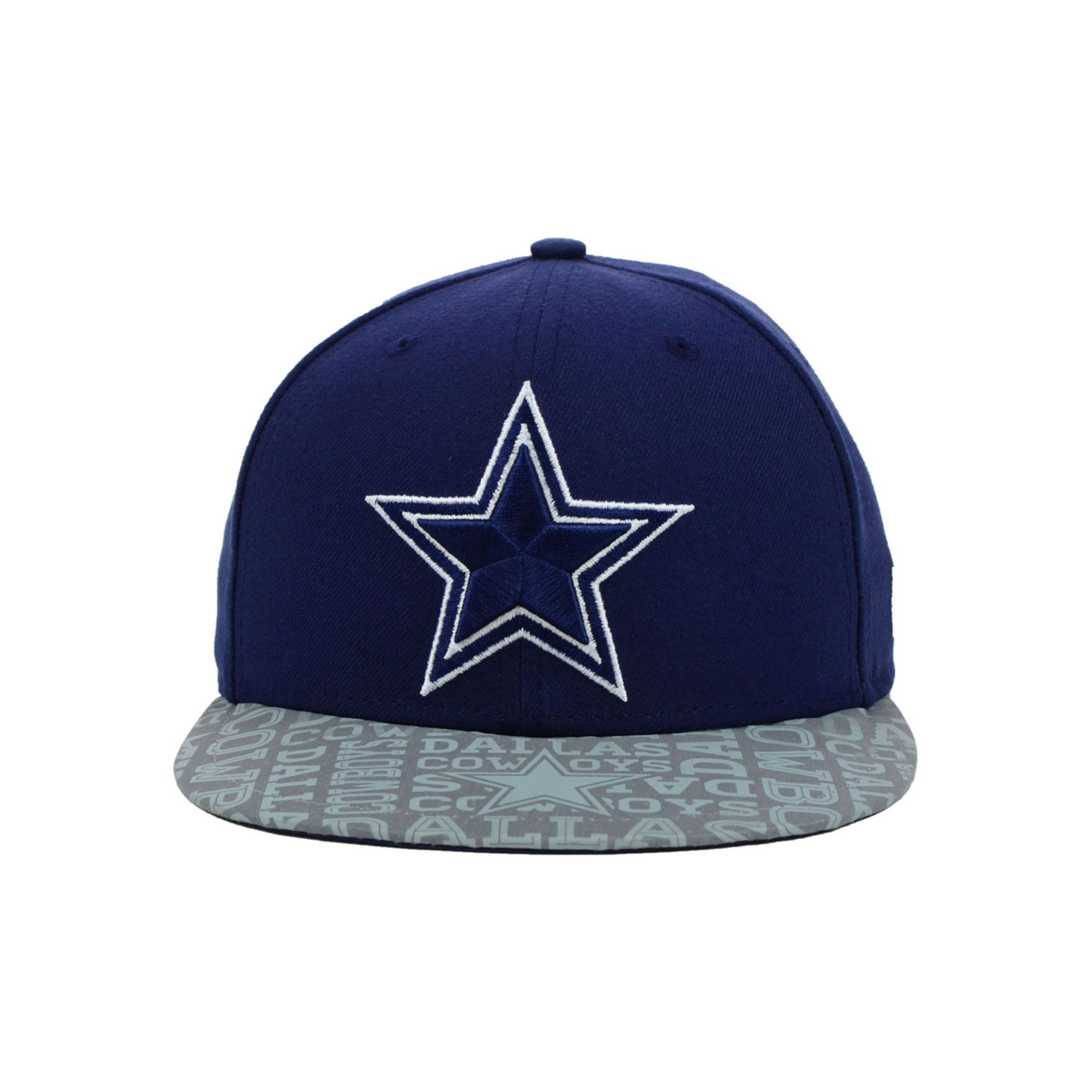 eadd7766d1d0b8 ... authentic lyst ktz kids dallas cowboys nfl draft 59fifty cap in gray  for men 56576 54391