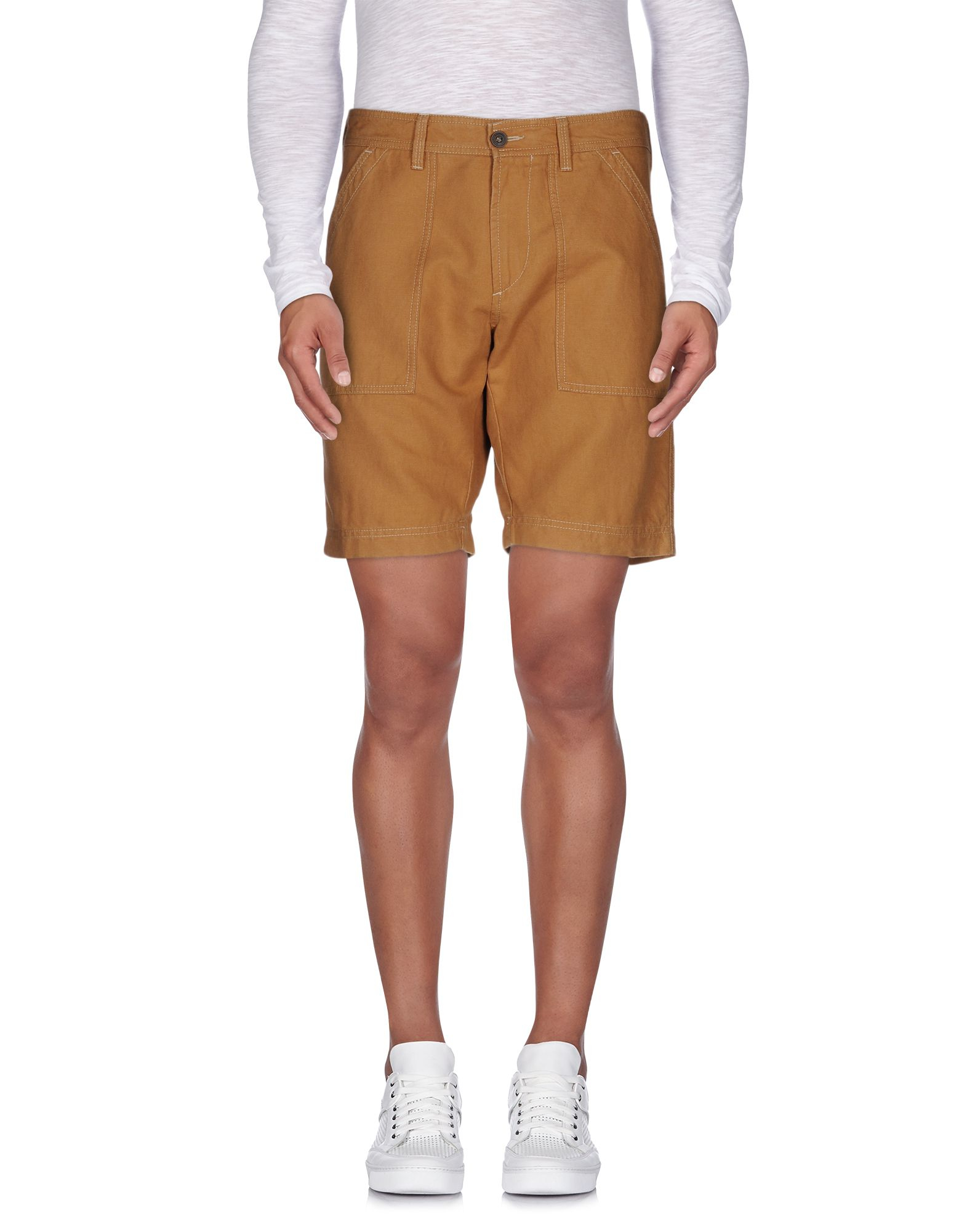Marina Yachting Bermuda Shorts In Brown For Men Lyst