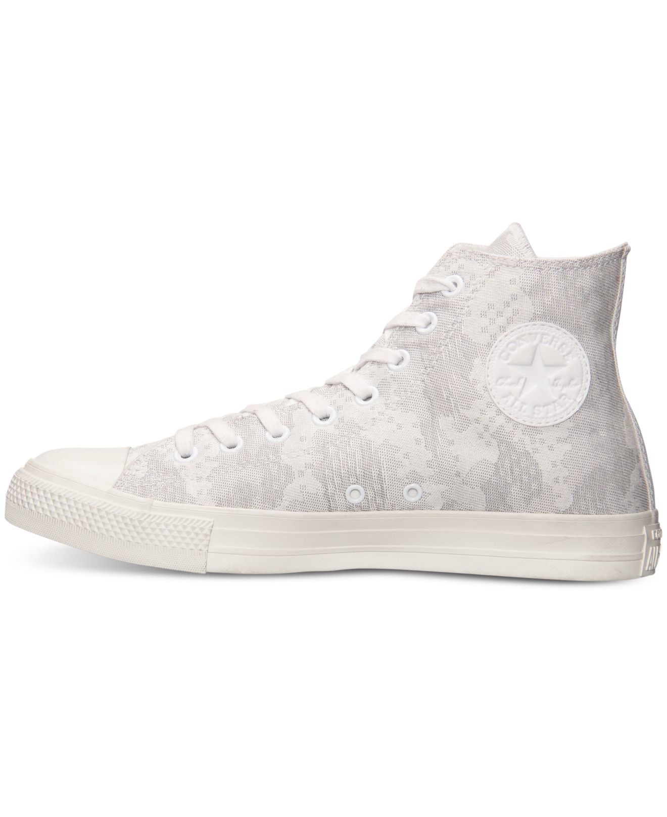 bac68b7e6fe2 Lyst - Converse Men s Chuck Taylor High Camo Jacquard Casual Sneakers From  Finish Line in White for Men