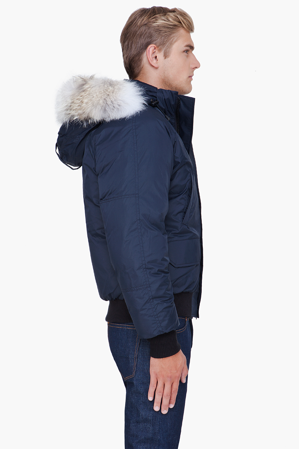 Canada Goose Navy Blue Jacket