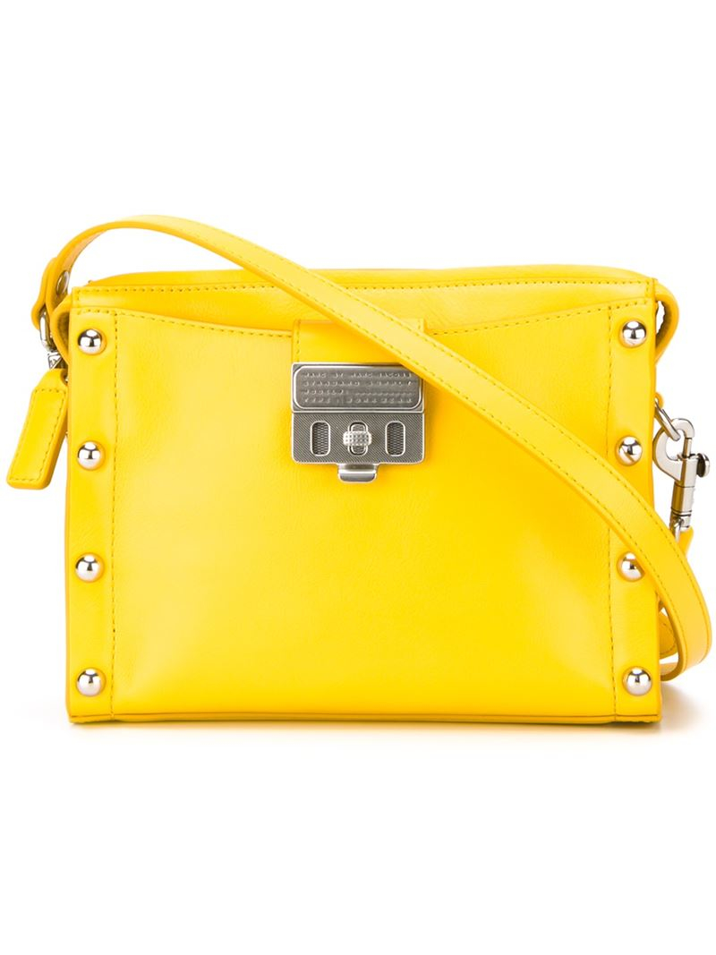 8d37705aa1cb Marc By Marc Jacobs  espionage 22  Crossbody Bag in Yellow - Lyst