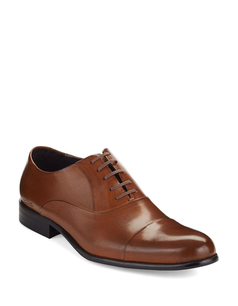 Kenneth Cole New York Shoes Cognac Men