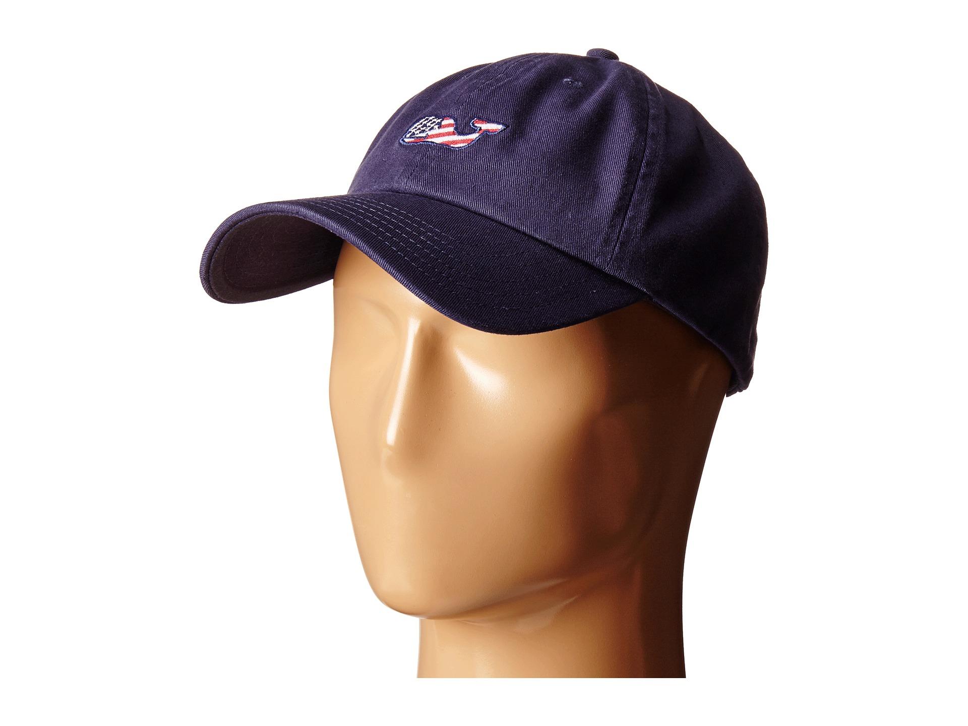 4df7f02d744 Lyst Vineyard Vines Whale Flag Baseball Hat In Blue For Men