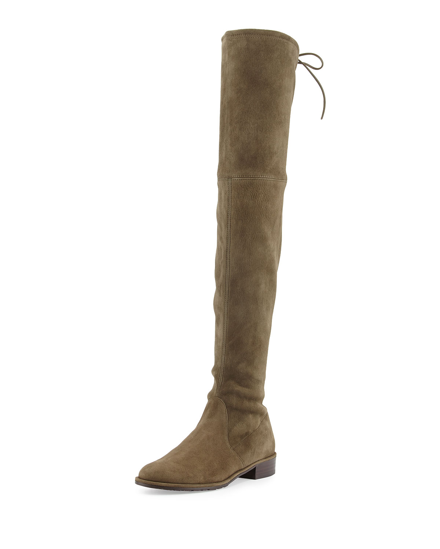 stuart weitzman lowland suede the knee boot in
