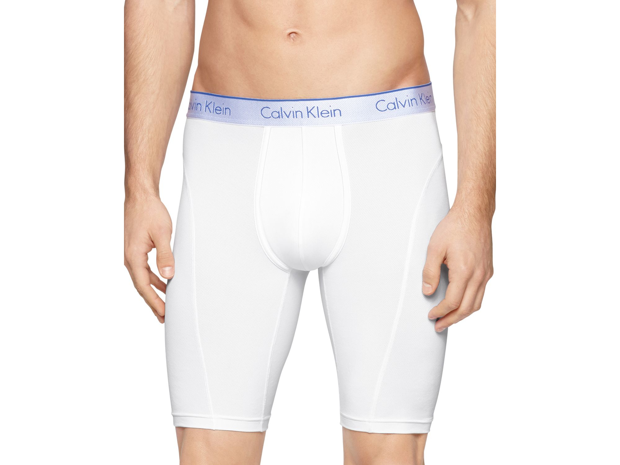calvin klein air fx boxer briefs in white for men lyst. Black Bedroom Furniture Sets. Home Design Ideas