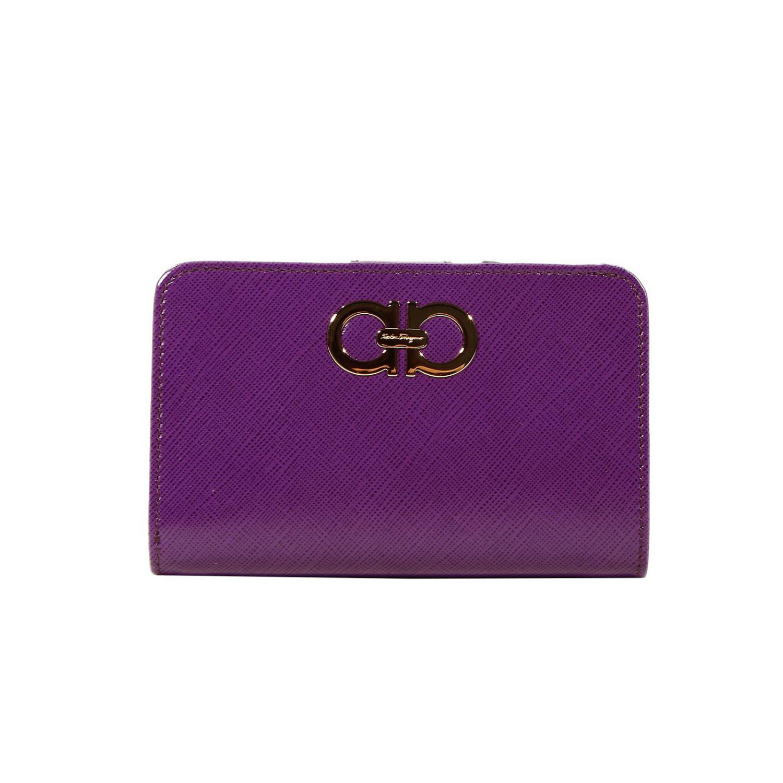 Ferragamo salvatore ferragamo purple wallet product 1 21275412 1 895912330 normal