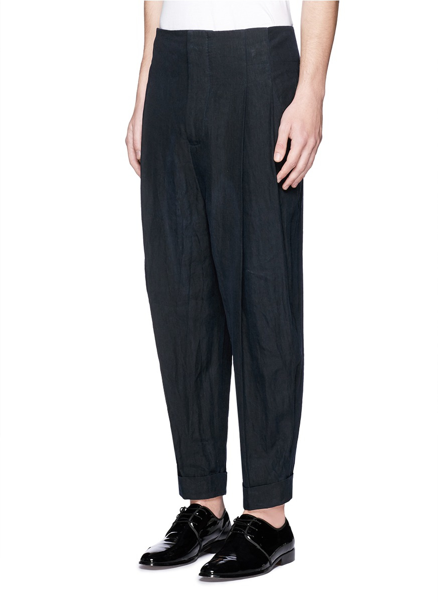 Cheap Real Cotton trousers Haider Ackermann Clearance Reliable LCPu2kw