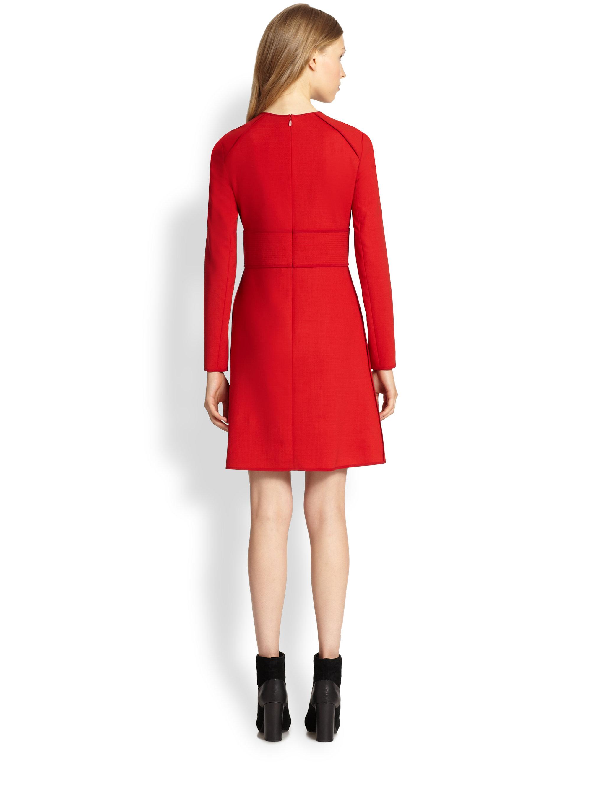 Red dress wool photos