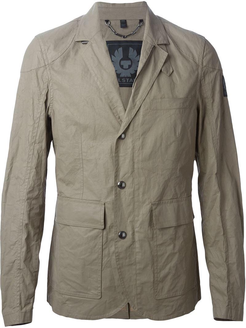 Belstaff Casual Lightweight Jacket in Brown for Men | Lyst