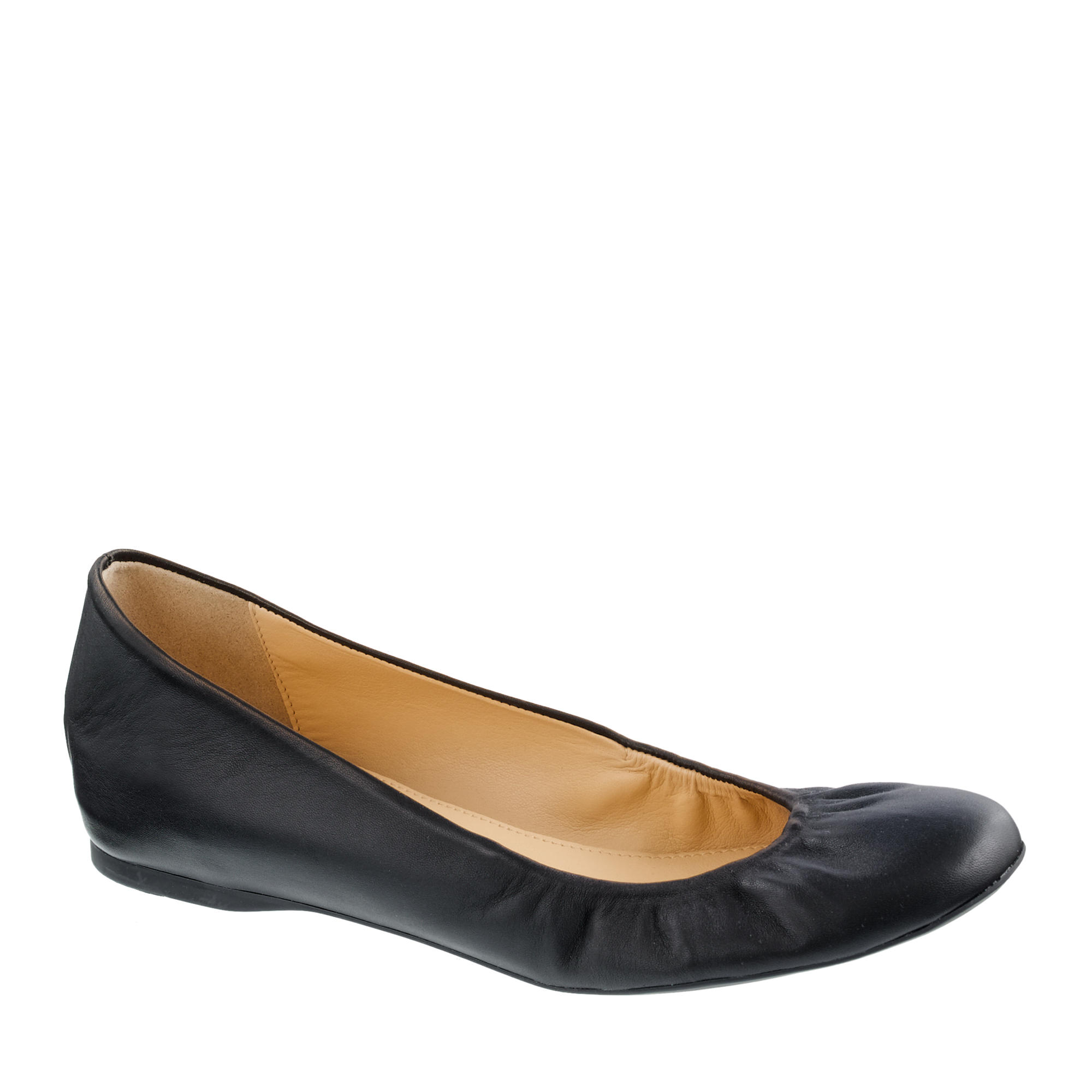 Tory Burch Claire Ballerina Flat ($+): Tory Burch is known for her iconic leather ballet flats. The bright colored leather and shiny gold buckle add just the right amount of color to any outfit. The bright colored leather and shiny gold buckle add just the right amount of color to any outfit.