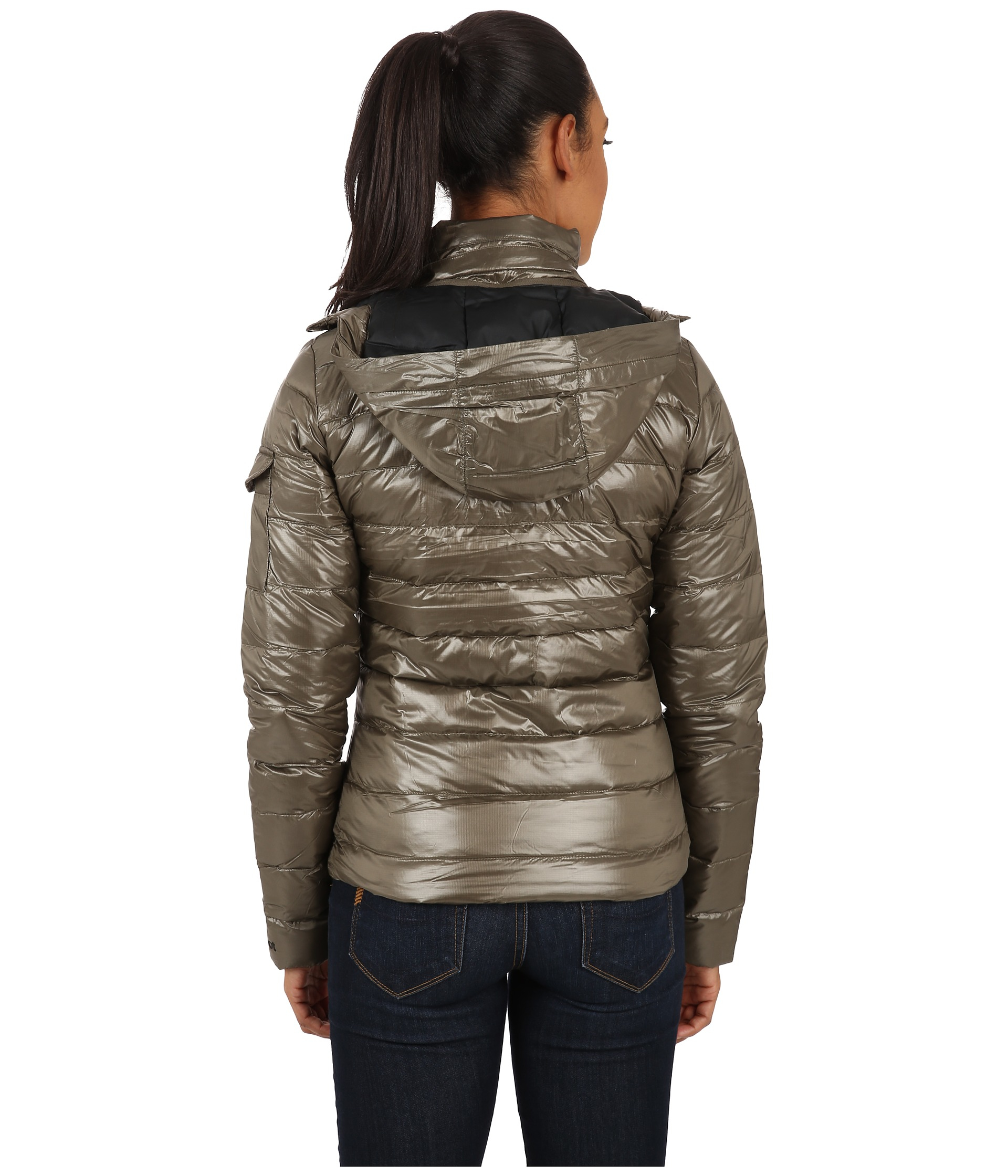 Lyst - Marmot Hailey Jacket in Green : marmot quilted jacket - Adamdwight.com