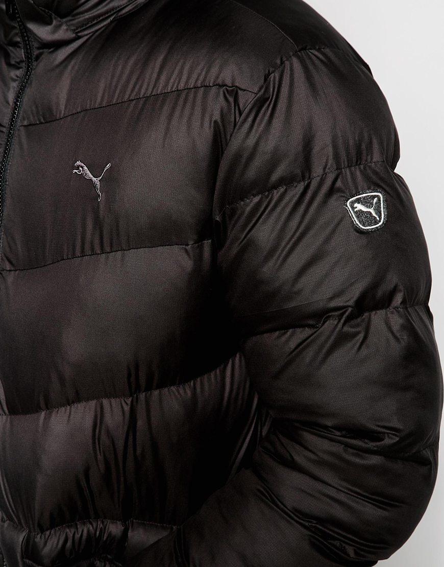 Lyst - Puma Padded Jacket in Black for Men : puma quilted jacket - Adamdwight.com