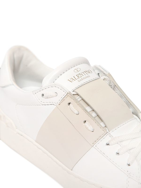 Open lips sneakers Valentino