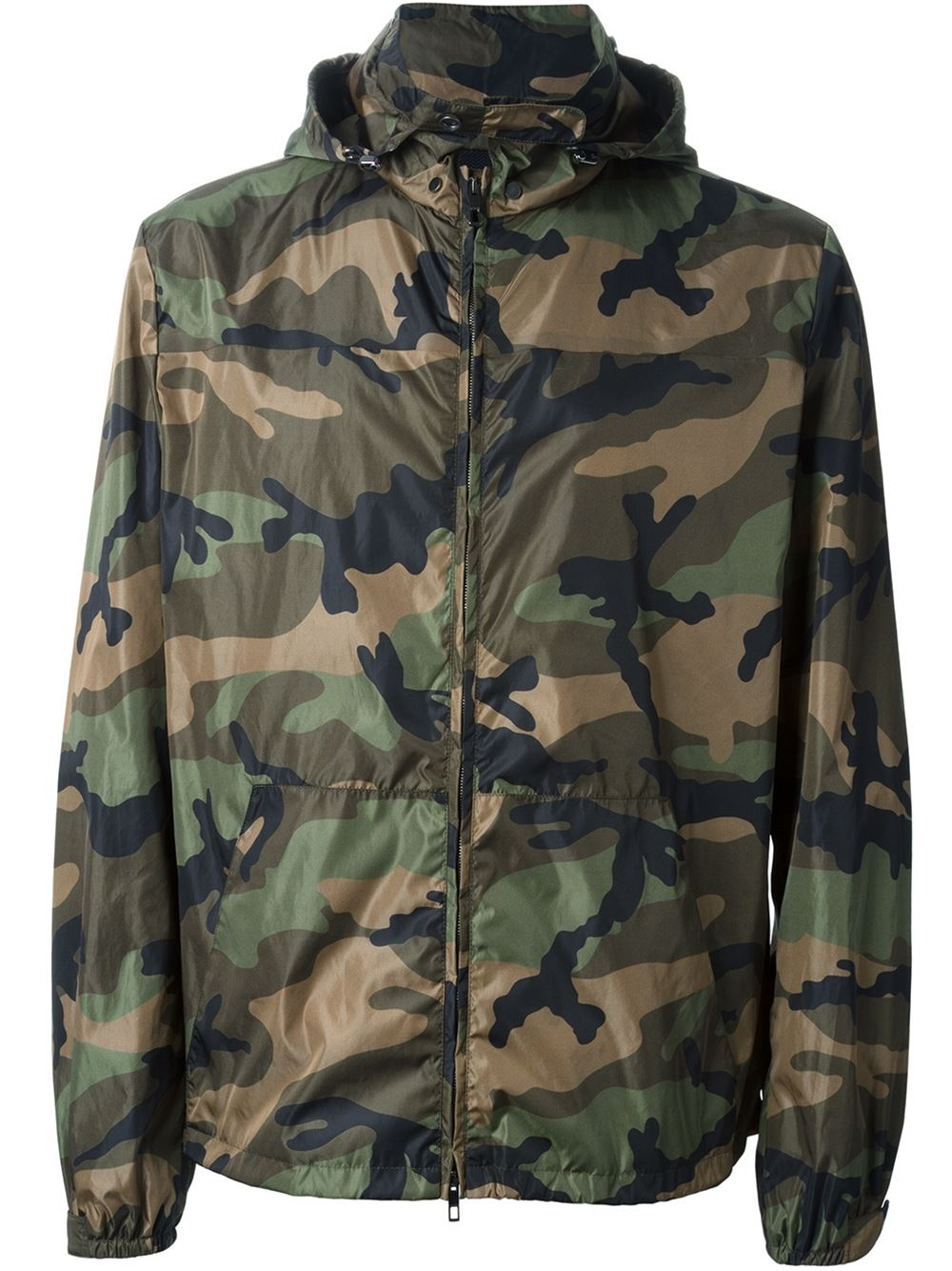 camouflage track jacket - Green Valentino Sast Cheap Online IAKxqQlD