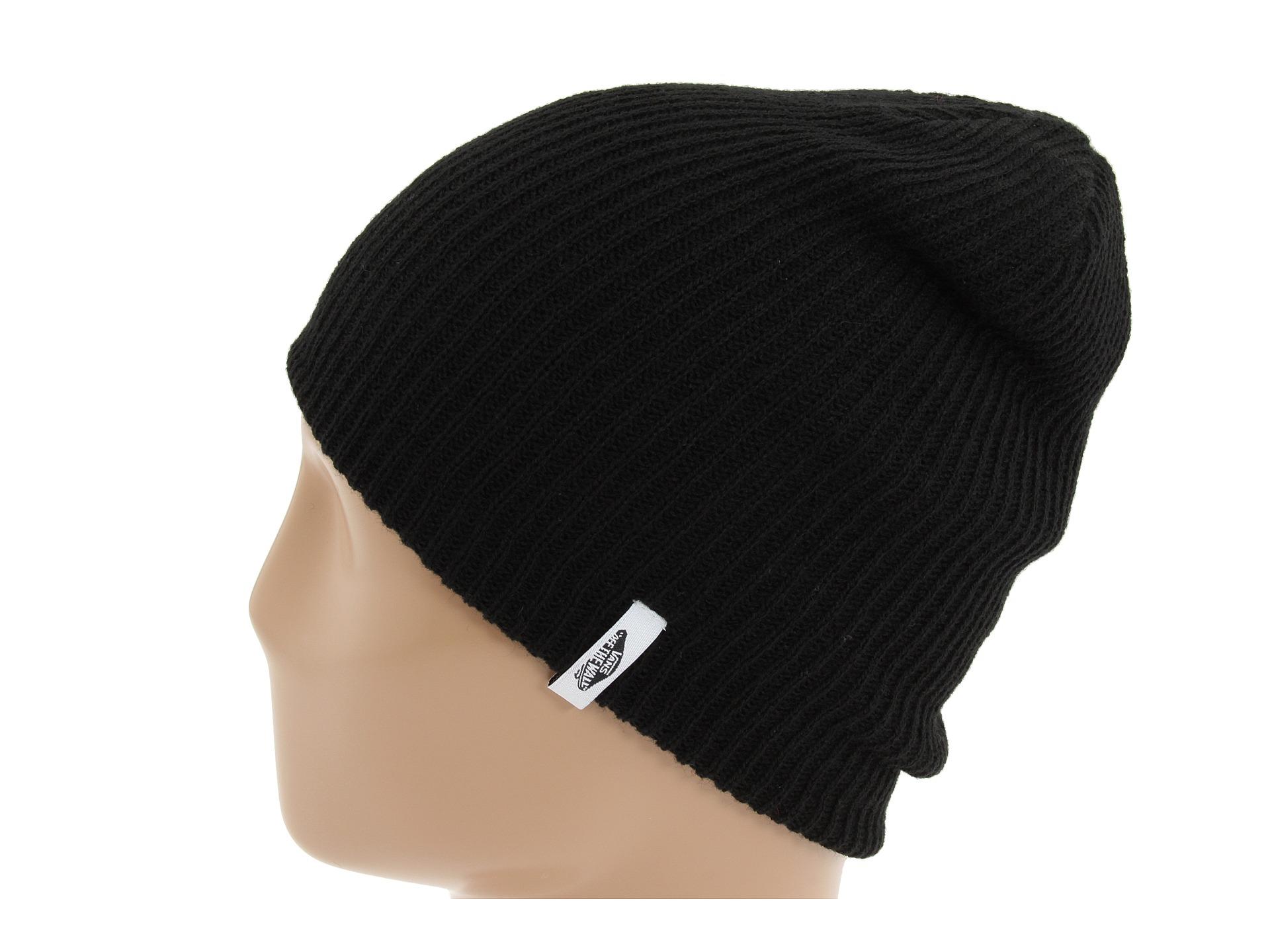 474a49a10c9b6 Lyst - Vans Mismoedig Beanie in Black for Men
