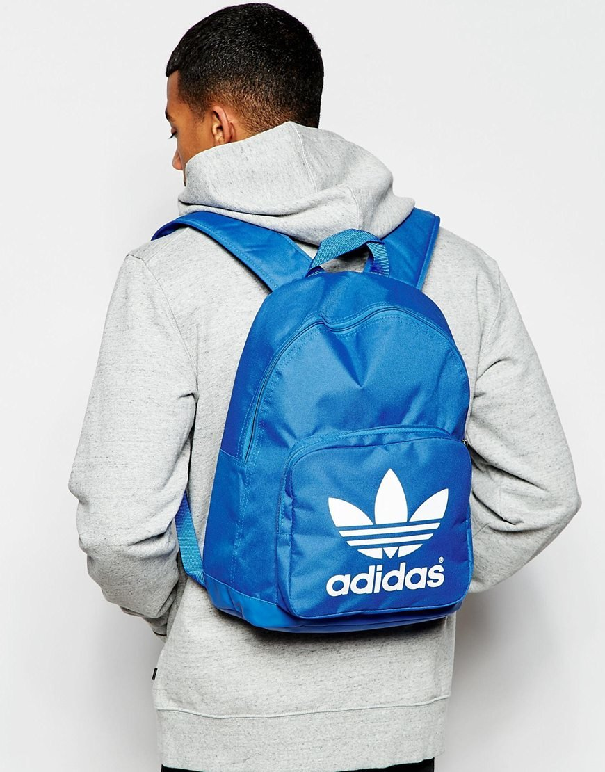 ade945d911f5ce Lyst - adidas Originals Backpack in Blue for Men