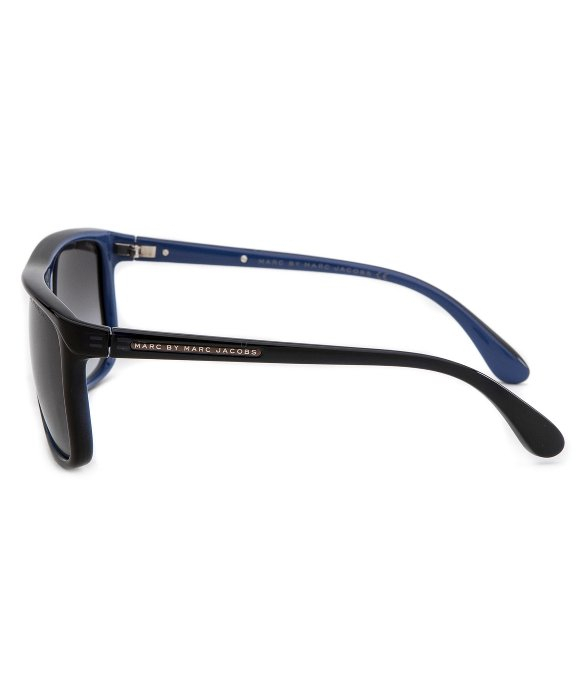 Marc Jacobs Sunglasses Mens  marc by marc jacobs mens rectangle black sunglasses in black for