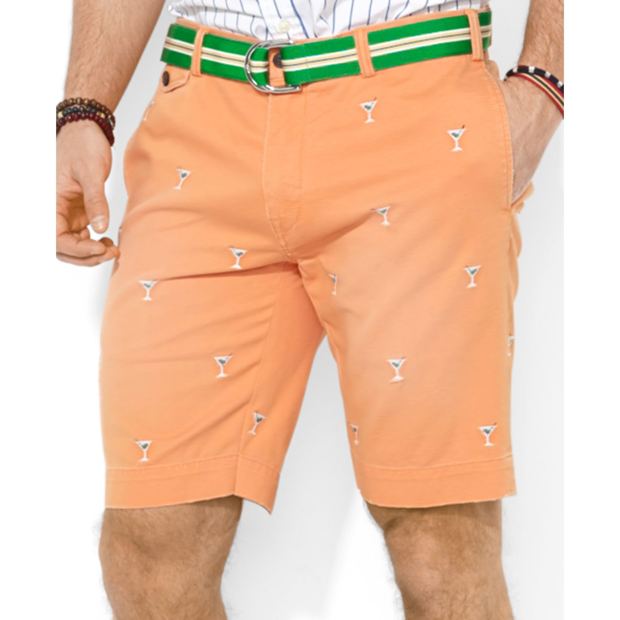 9492451c5b3 Lyst - Polo Ralph Lauren Polo Classicfit Greenwich Embroidered Chino ...