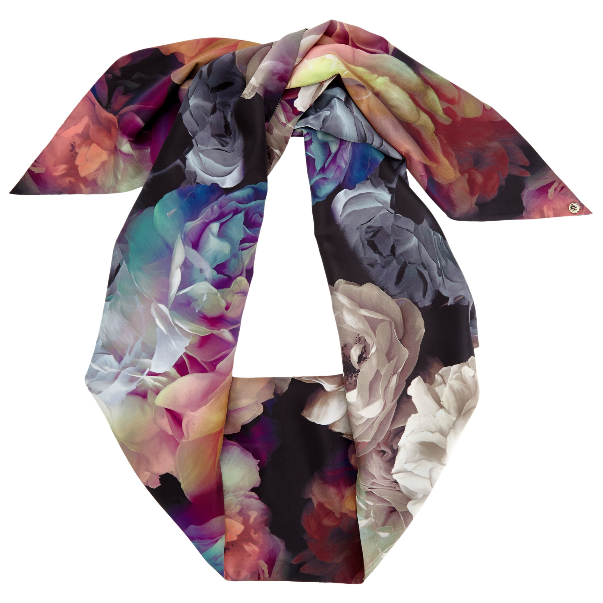 ted baker bloomey technicolour bloom scarf lyst