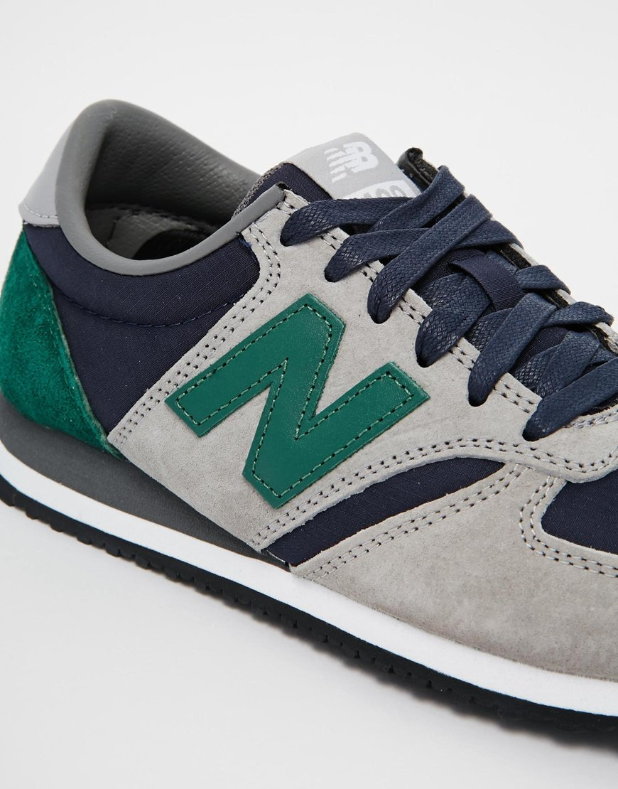 new balance green 420 trainers