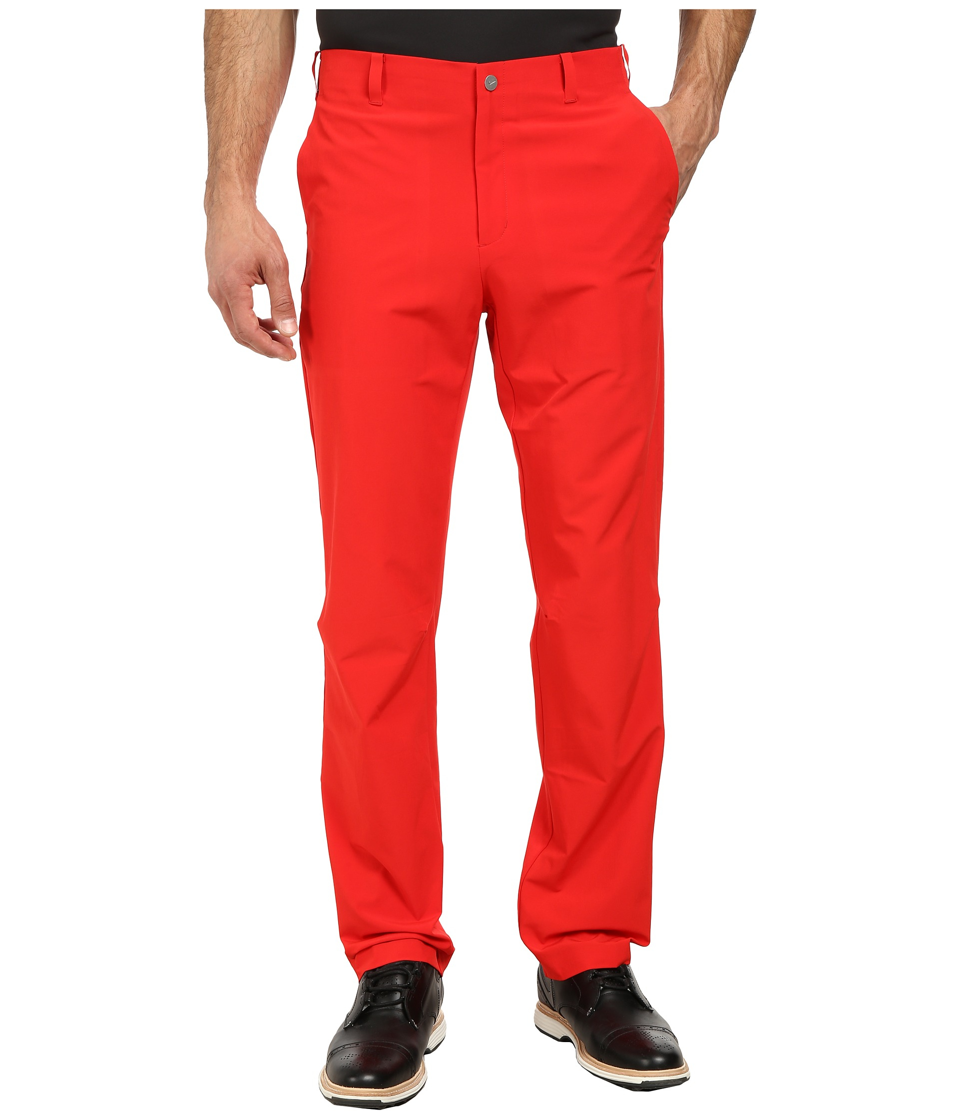 Lyst Nike Adaptive Fit Pant In Red For Men