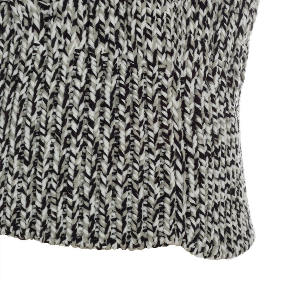 Paul smith Women's Grey Chunky Twisted Cable-knit Sweater ...