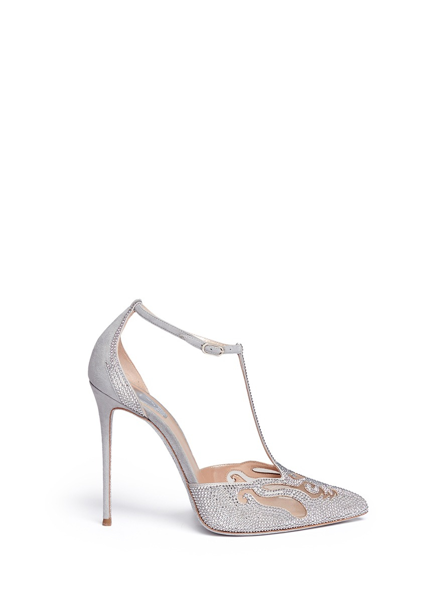 free shipping shopping online René Caovilla Rene Caovilla Mesh Slingback Pumps shipping discount authentic outlet store cheap price free shipping sast 2014 unisex sale online YQJV5u
