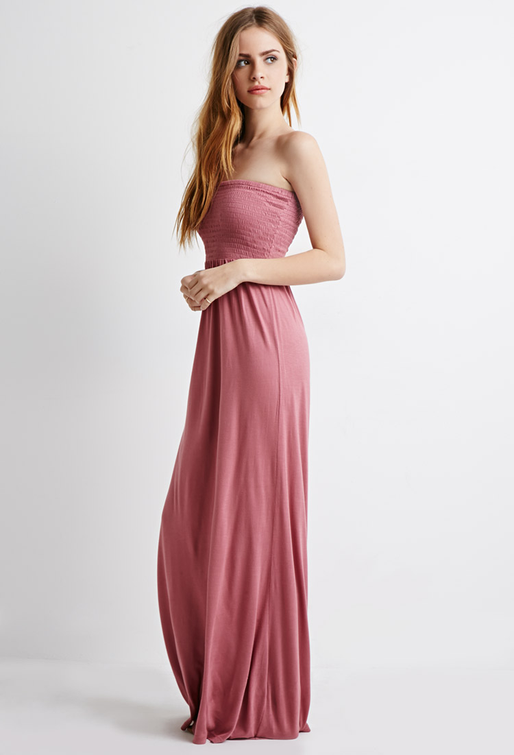 Cotton maxi dress forever 21