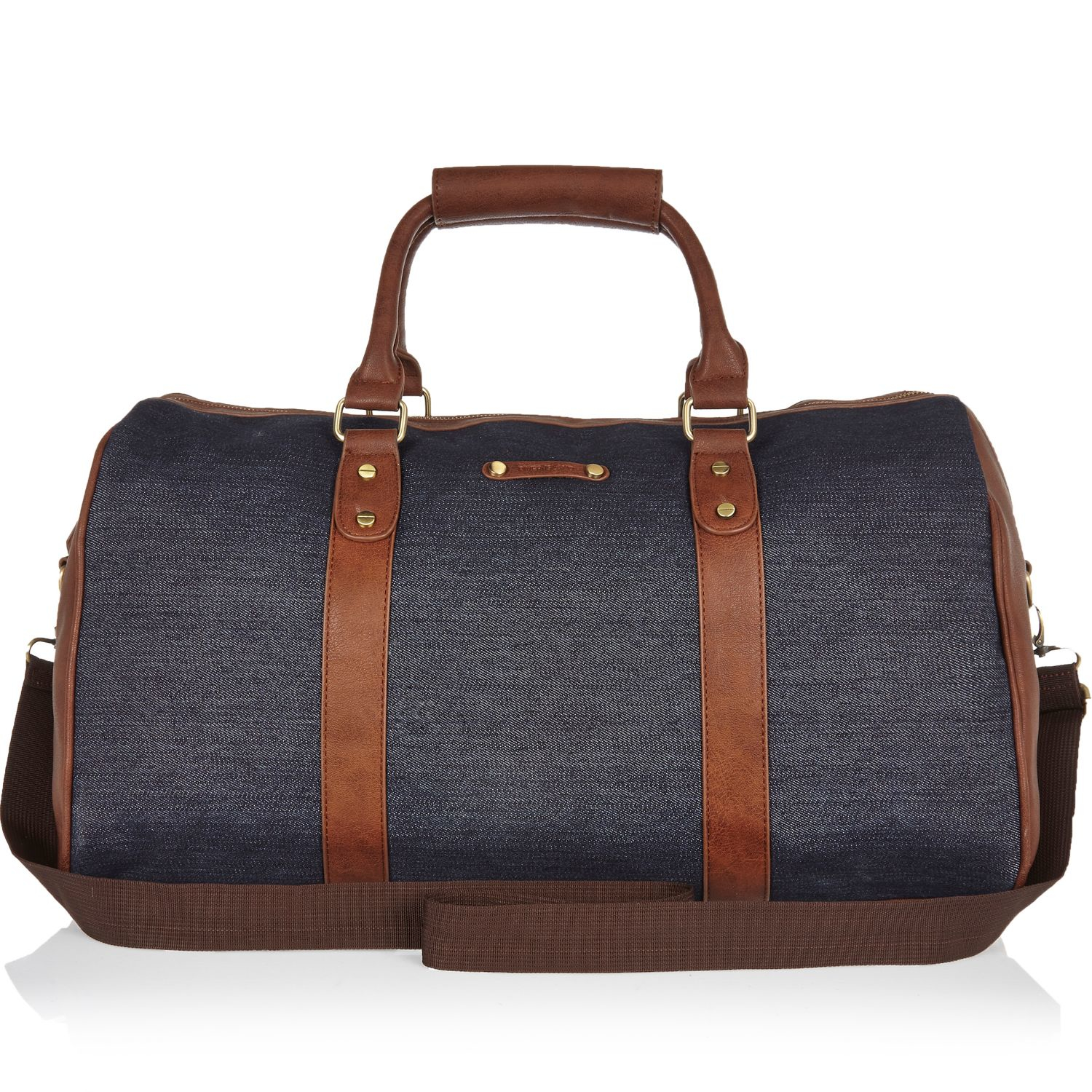Leather Holdall River Island