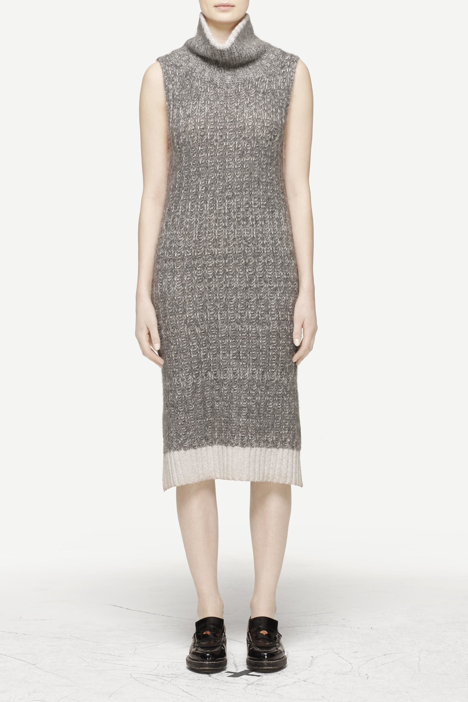 be35741cd39 Lyst - Rag   Bone Makenna Dress in Gray