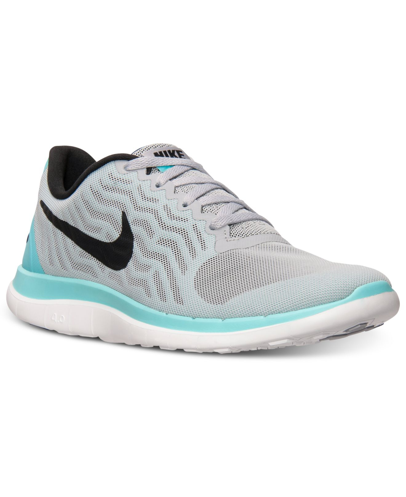 Lyst - Nike Women s Free 4.0 V5 Running Sneakers From Finish Line in ... d244aedb49