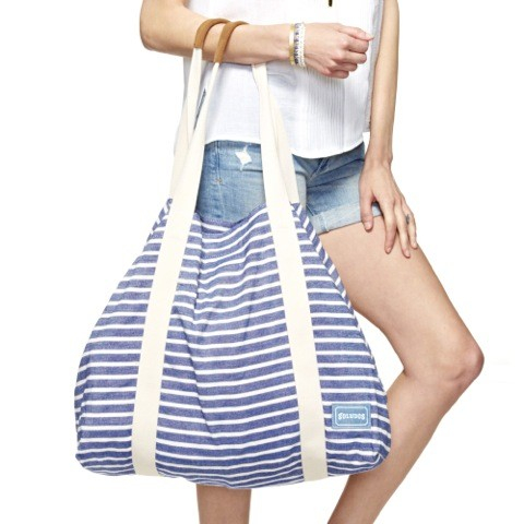Soludos Big Beach Bag Classic Stripe Lace Up Classic Stripe Sandal ...