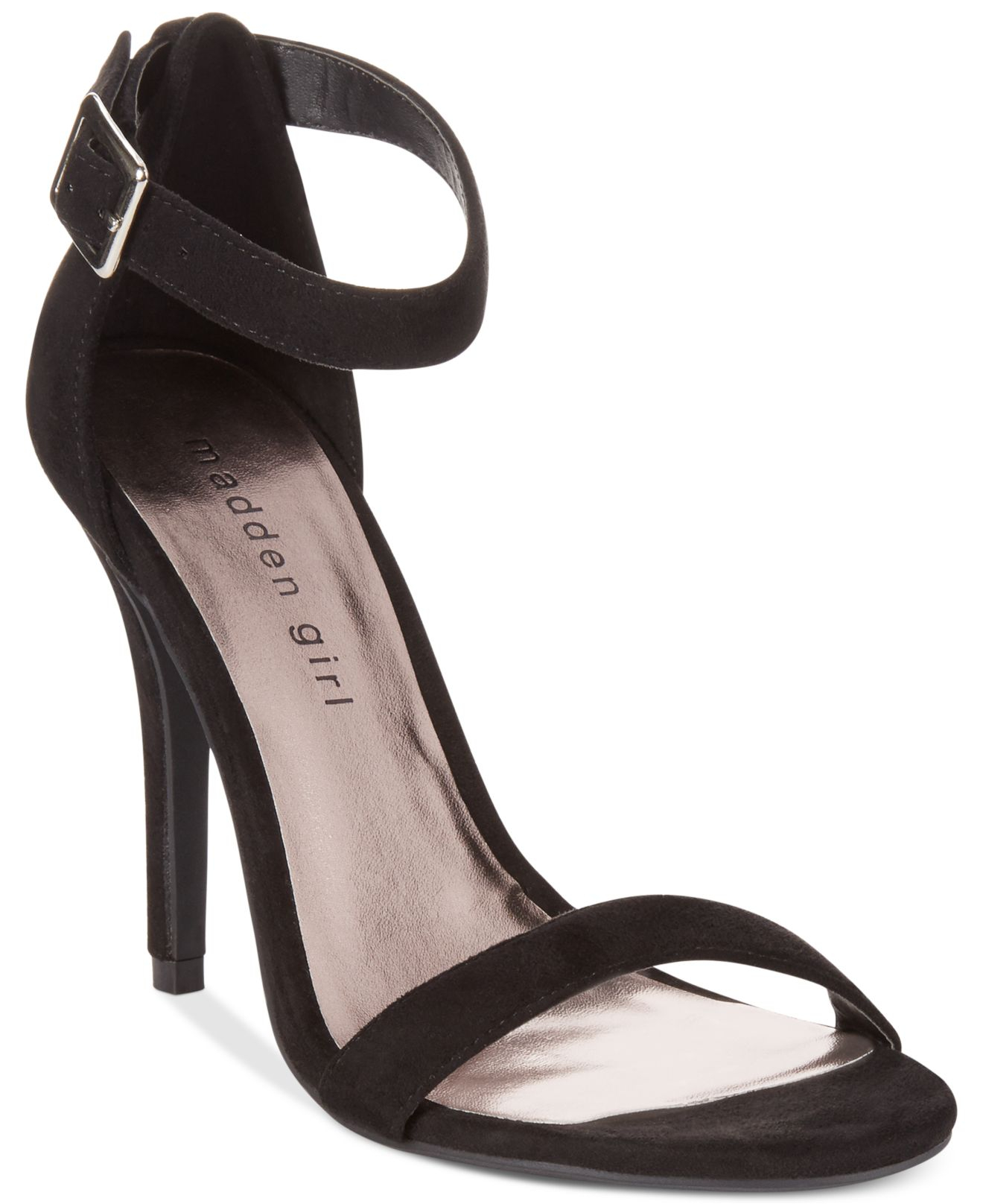 Madden girl Dafney Two Piece Dress Sandals in Black - Lyst