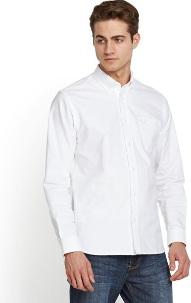 Men 39 S Fred Perry Shirts Lyst