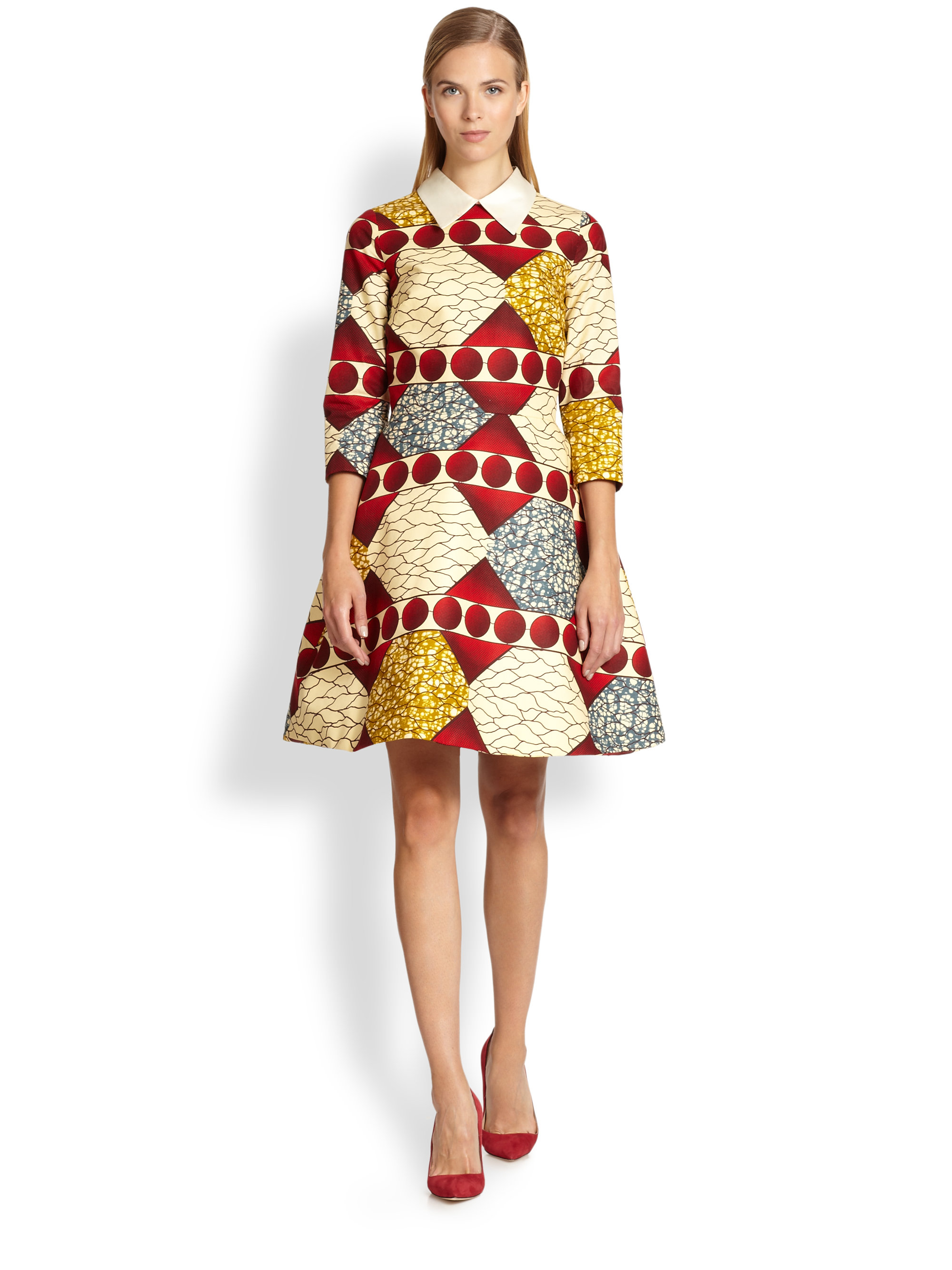 Multicolor dress Stella Jean The Best Store To Get DICL3STu
