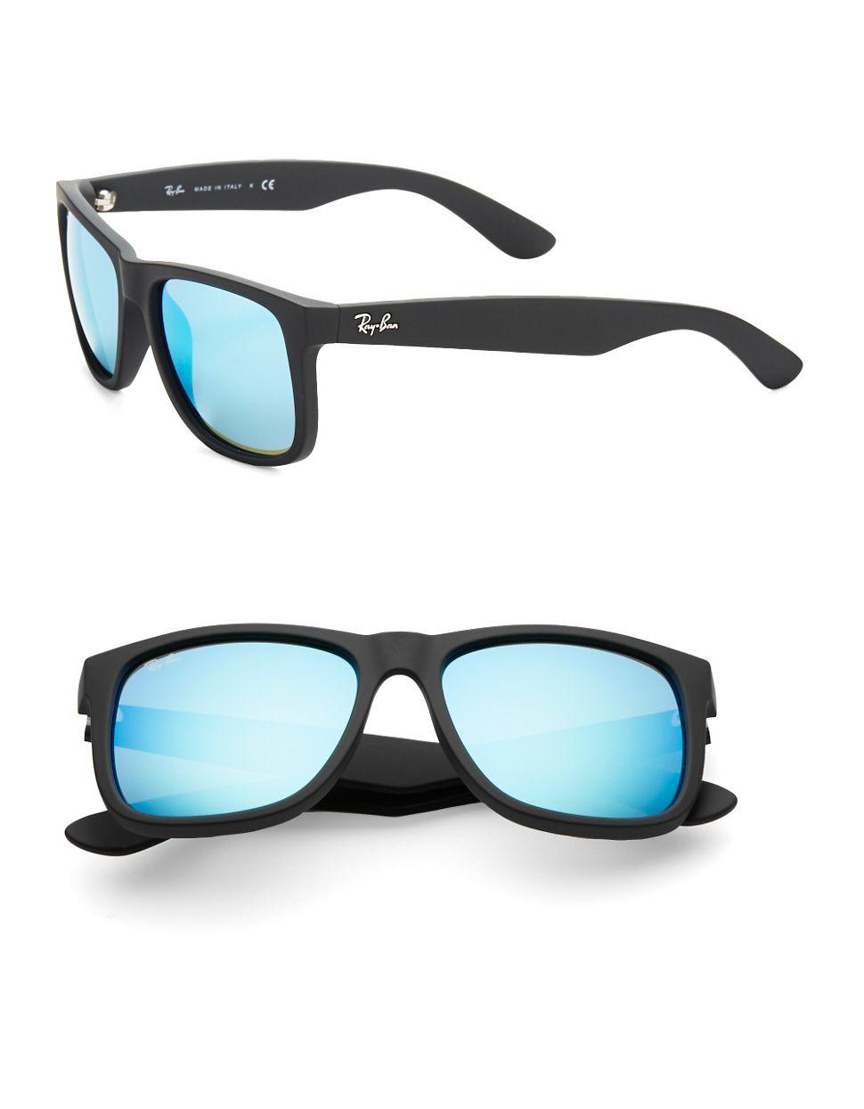 ray ban sonnenbrille justin blau