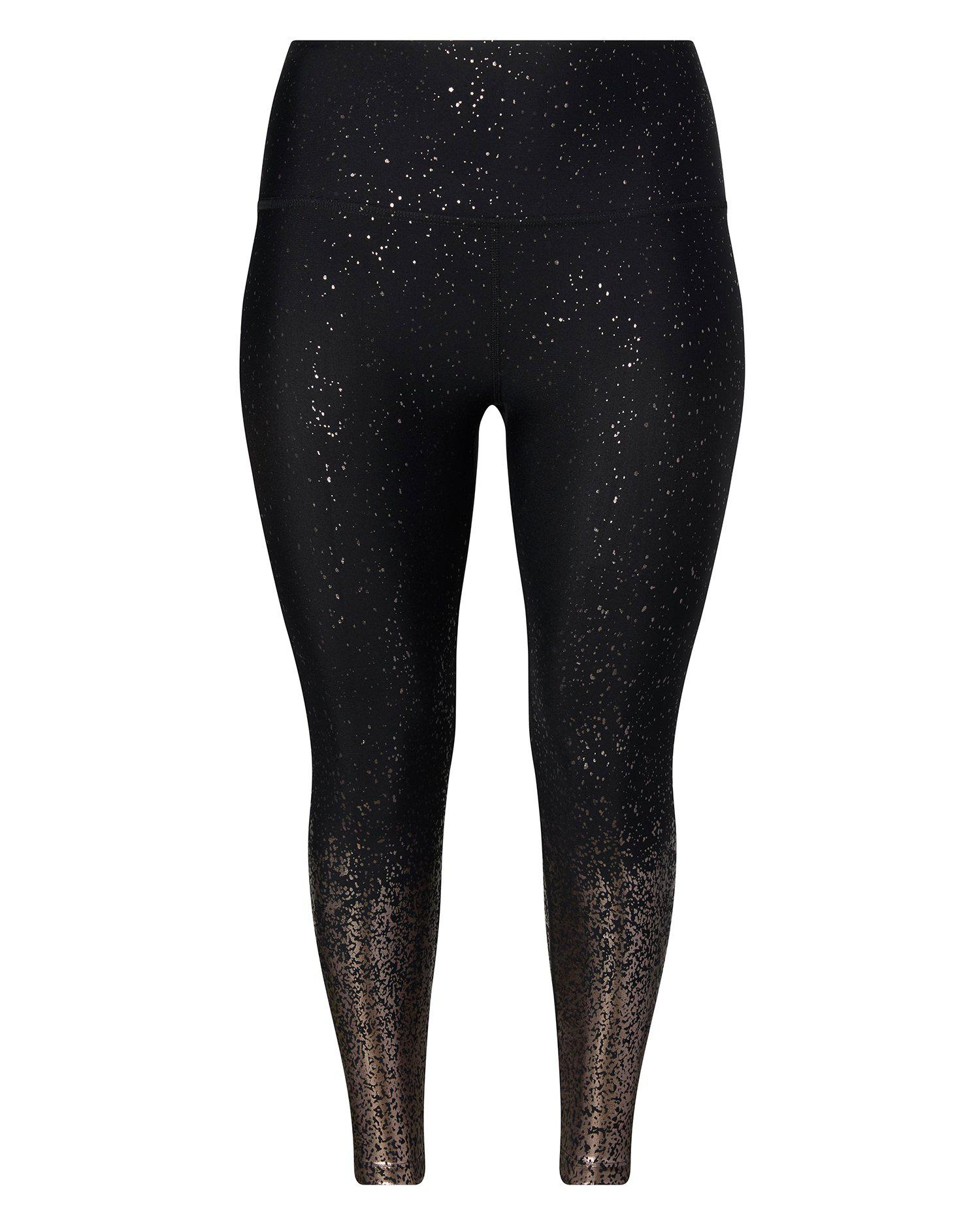 c86d467adc807 Lyst - Beyond Yoga Alloy Ombre High Waisted Midi Legging in Black