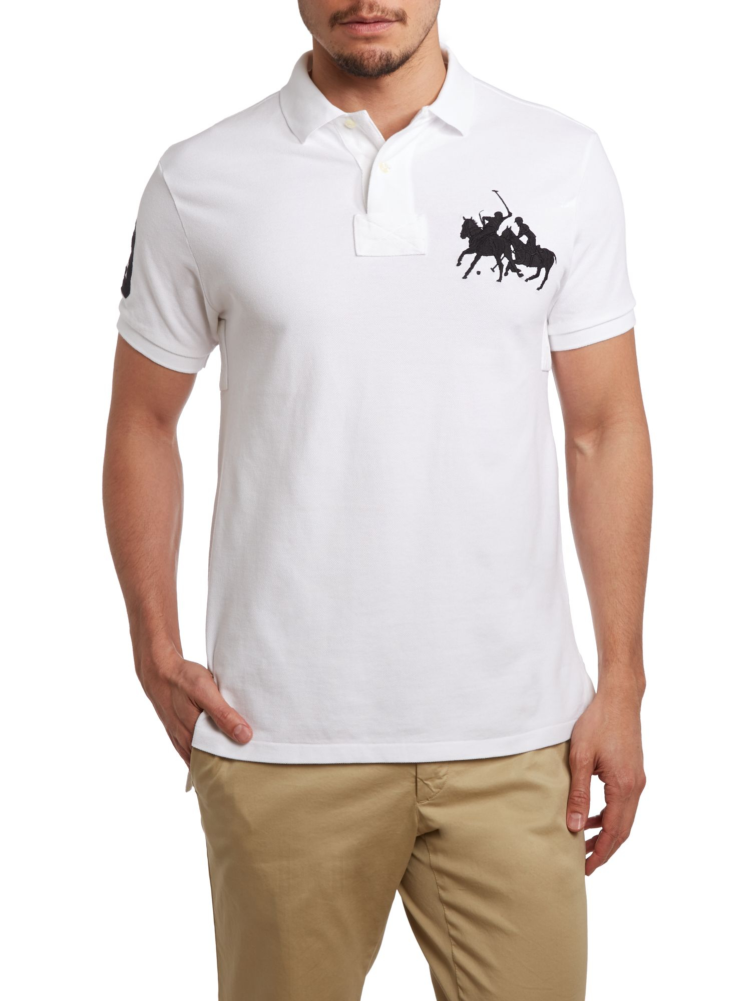 Polo Ralph Lauren Custom Fit End 3 Sleeve Dual Match Polo ...