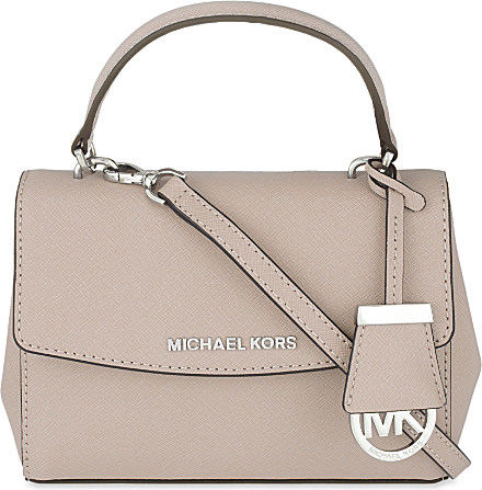 d23b6390d71c MICHAEL Michael Kors Ava Extra-small Saffiano Leather Cross-body Bag ...