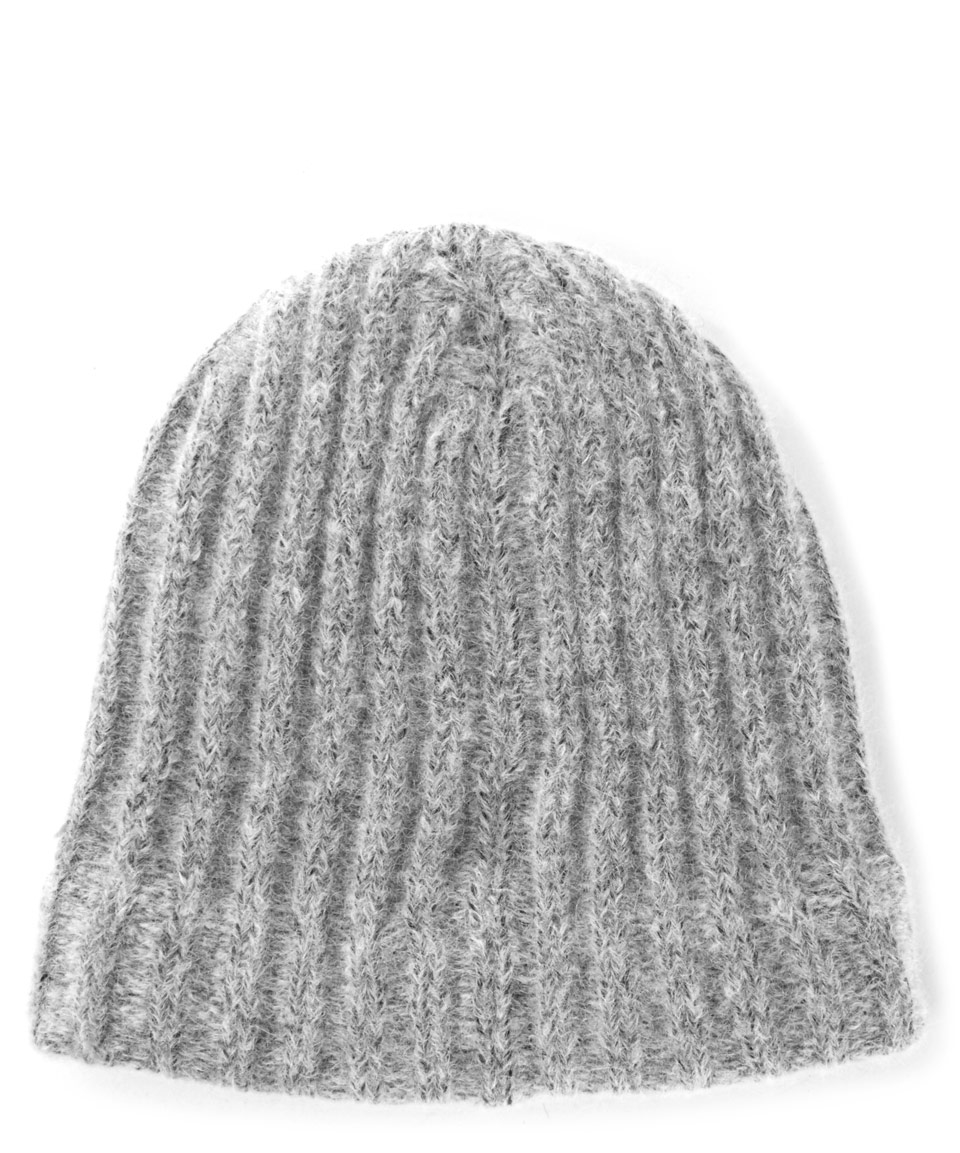 Lyst - Norse Projects Charcoal Rib Alpaca-blend Beanie Hat in Gray ... 423c50d84456