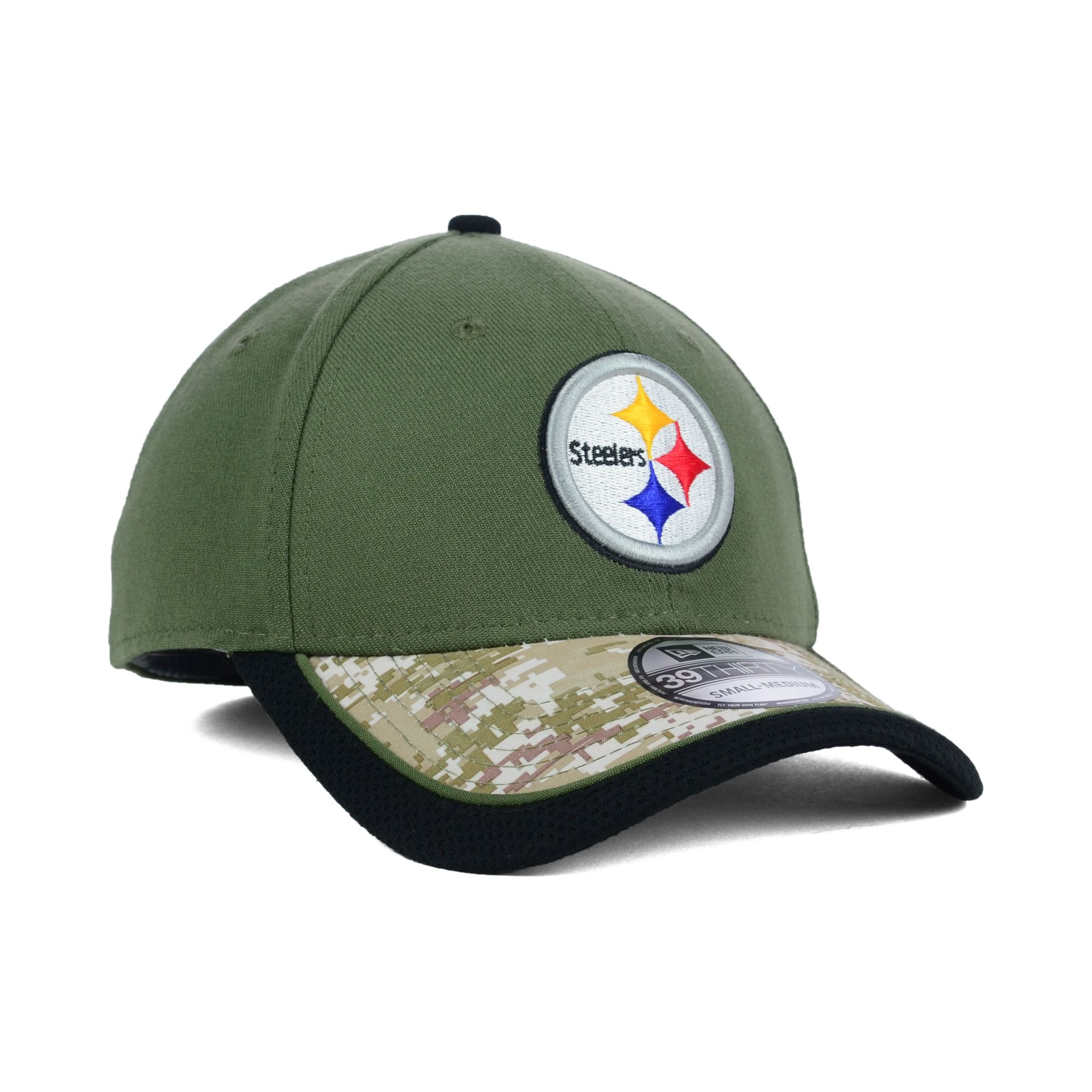 256c75b0f91 Lyst - KTZ Pittsburgh Steelers Salute To Service 39thirty Cap in ...